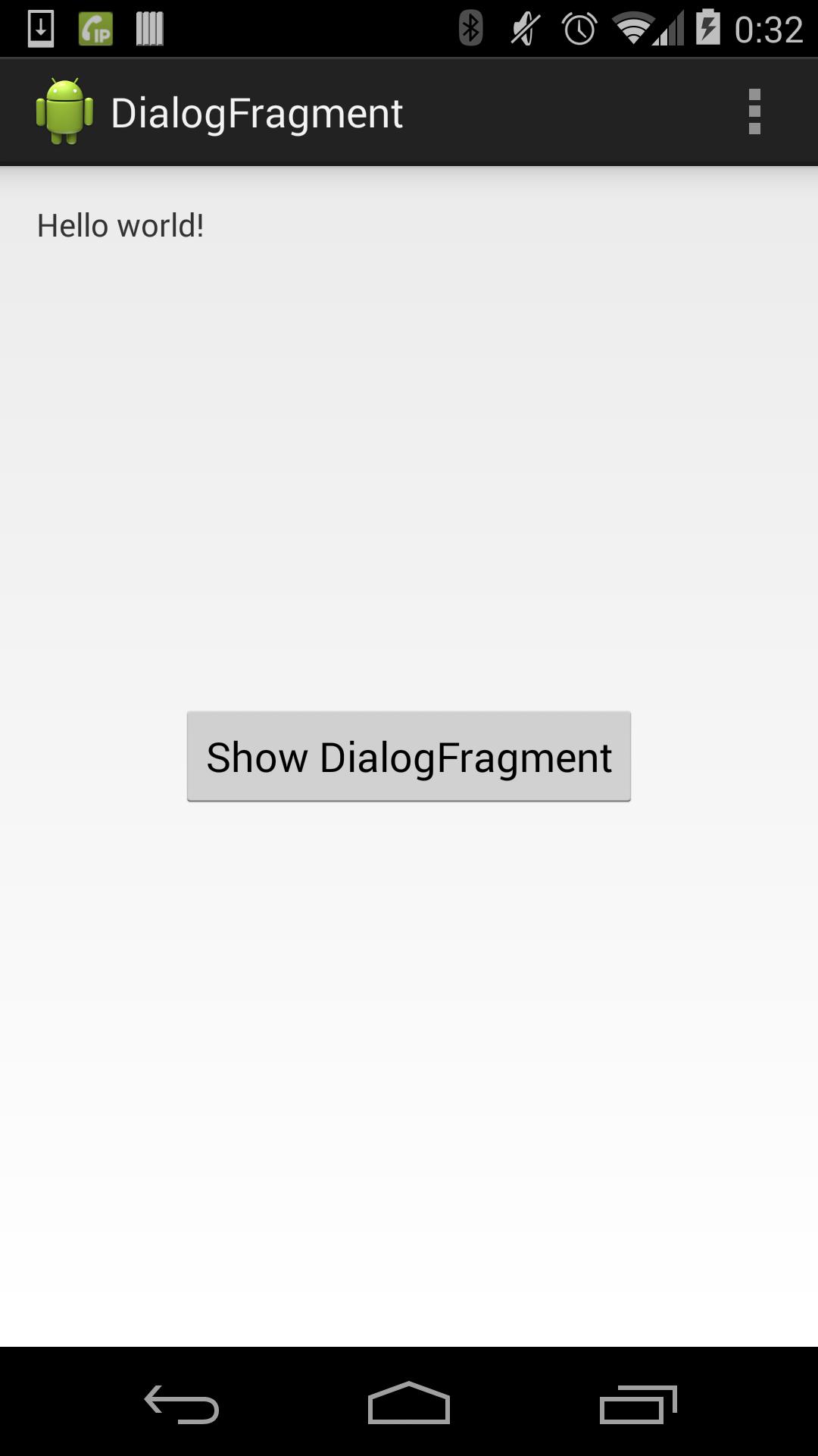 DialogFragmentのキャンセルを無効にする